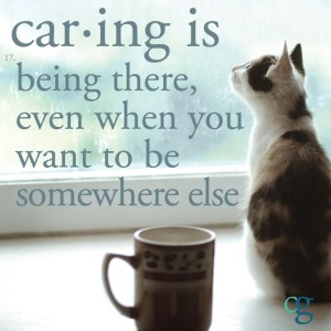 caring-is-being-there