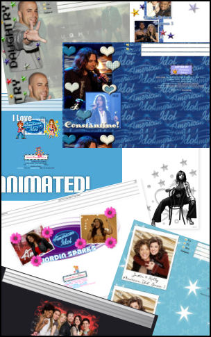150+ Free American Idol Incredimail Letters!